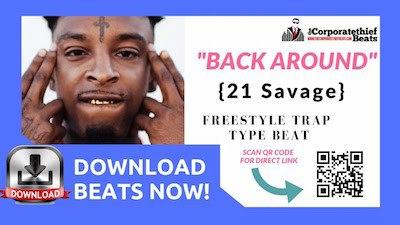 21 Savage Type Beat Back Around Again