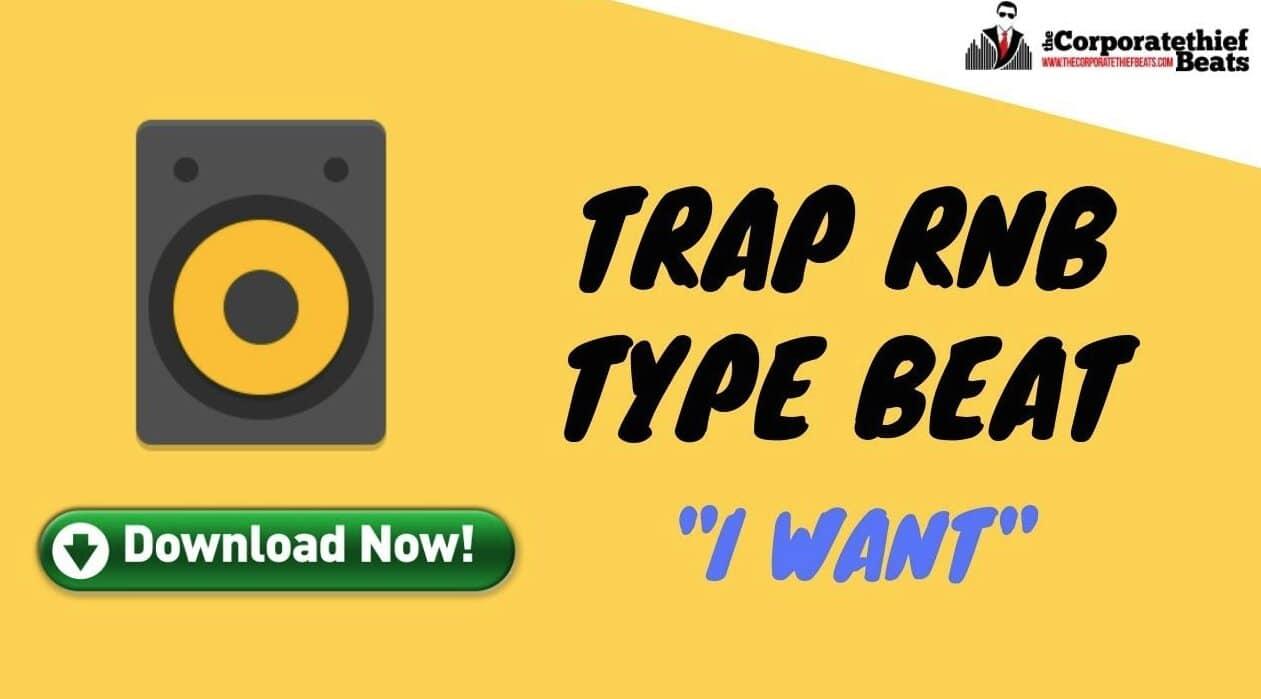 Trap RnB Type Beat - I Want - Chill Trap Vibe Beat